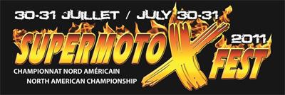Logo - SuperMotoXFest 2011